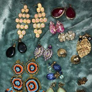 Jewelry - Statement Earrings Bundle